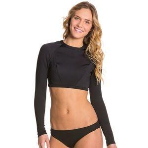 B Swim Long Sleeve Crop Rashguard - Size M